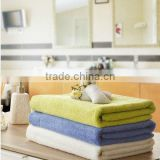 colored bamboo cotton bath sheet