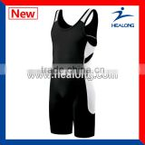 Sublimation Custom Made Women Wrestling Costume Singlet