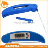 Digital LCD BBQ Thermometer Barbecue Foldable Cooking Food Probe Meat Kitchen Sensor Blue