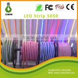 High Voltage 50m 100m/roll led strip light single color colorized cover AC 110v 220v smd waterproof led strip light