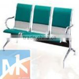 modern hair salon beautiful high quality stainless steel green and white waiting room chairs to sale for hairdresser