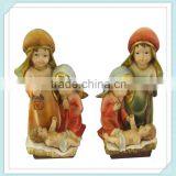 lovely resin decorative baby jesus figurine