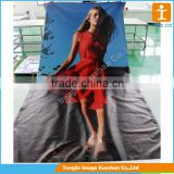 Digital printing fabric banner polyester banner PVC banner for promotion                                                                         Quality Choice