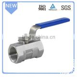 316 stainless steel high pressure 1pc ball valve                                                                         Quality Choice