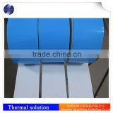 Electrically isolating and Soft and compressible High temperature double tape silicone adhesive