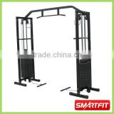 deluxe heavy duty cable gym power rack with double weight stacks high class fitness equipment