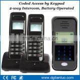 Remote Unlock 2.4GHz Digital Wireless Audio Door Phone Intercom System                                                                                         Most Popular
