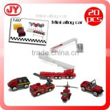 High quality metal toy fire truck with 2 asst styles