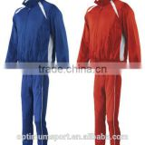 Top quality cheap sports tracksuits for men, design your own tracksuit with different color