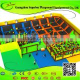 China Supplier Commercial Kids Indoor Trampoline Park Equipment