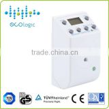 Authority assessed weekly programmable electronic digital timer socket