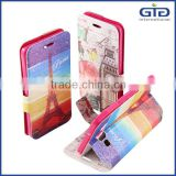 [GGIT] Wholesale Glitter Powder Double-Faced Flip Leather for Galaxy A5 Mobile Phone Case