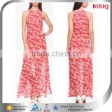 red colored kaftan dress floral printed indian kaftan new design long stylish maxi dresses