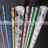 led lighting colorful swirl cast acrylic rods                                                                         Quality Choice