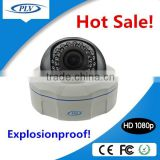 China security products 1080p full hd CCTV vandalproof explosionproof dome camera factory