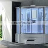 Steam shower sauna house shower enclosure with spa bathtub (G151)