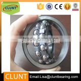 double row self-aligning ball bearing,10000series,cylindrical bore,open,steel cage,C4 clearance,metric
