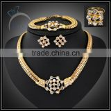 fashion bridal jewelry set/gold plate jewelry to buy