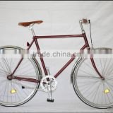 fixed gear bicycle lugged vintage bicycle single speed track bike KB-700C-M16071                                                                                                         Supplier's Choice