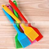 wholesale high temperature Heat Resistance Non-Stick barbecue silicone rubber brush for Basting Or BBQ or Baking