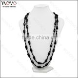 Hot selling best versatile to dress agate necklace