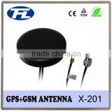 Manufacturer of popular gps gsm antenna/combine antenna with SMA male connector on GPS and TNC male on GSM, RG174 cable