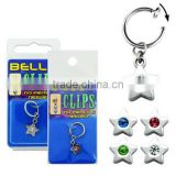 Clip On Star Fake Dangling Belly Button Rings