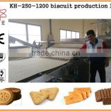 KH fully automatic biscuit making machine/oreo biscuit machinery manufacturer