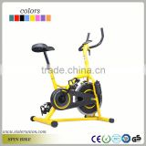 Fitness Stationary Exercise Magnetic Spin Bike with Yellow Color