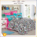 Single, double, queen, king bed size sheets fabric for 100% cotton 4pcs luxury home textile wholesale bedding set