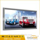 Backlit fabric led frame advertising display outdoor light box signs snap aluminum light box