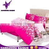 Colorful Polyester Bedding Sets Include Duvet Covers PIllowcases Full Size Fitted Sheets