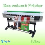 DX5 head eco solvent printer 1440DPI 1.6m, 18 square meter per hour