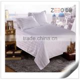 China Factory Directly Sale Cotton Stripe Fabric Cheap Bed Sheets for Hotels or Hospitals                                                                         Quality Choice