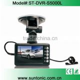 hd 720p car dvr recorder camera 2.8 INCHES Car Camera Vehicle DVR Dual Camera with motion detection
