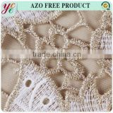 gold thread embroidery lace fabric metallic yarn