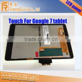 "Tablet Digitizer For Google nexus 7"" Touch screen"