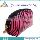 Dongguan PU factory outlet travel cheap cute portable ladies cosmetic bag