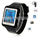 "Tri-band Single Card Bluetooth 1.3"" Touch Screen Watch Phone"
