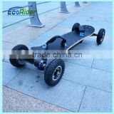E7-2 EcoRider Off Road Brushless motor 1800w with samsung battery 36v Electric skateboard