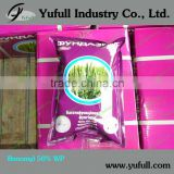 Agrochemical Benomyl 50% WP, fungicide, systemic, benlate