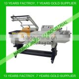 Semi-automatic L-bar book sealer/shrink wrapping machine