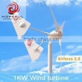 Inquiry About Electrical green power wind turbines 48v 1kw small wind turbine windmill for selling