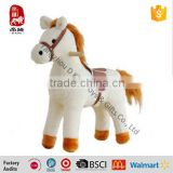 Factory Wholesale Plush Long Hair Mane Tail Stuffed Horse Baby Toy