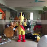 Yellow big Bird Mascot Costume for sale