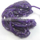 Natural Amethyst Loose Box Beads, Purple Color ,Gemstone Beads