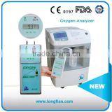 portable oxygen purity analyzer JAY-120/oxygen concentrator analyzer/portable gas analyzer