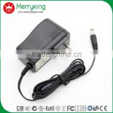 110 volt ac adapter 9volt 2amp US plug 18W vertical type switching power adapter with free samples