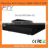 Home Security System Dahua DH-HCVR7104H-S2 H.264 4CH Tribrid HDMI TVI CVI 1080P DVR