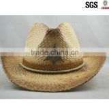 Wholesale sombrero straw hat /cowboy mexican hat for men /straw cowboy hat
